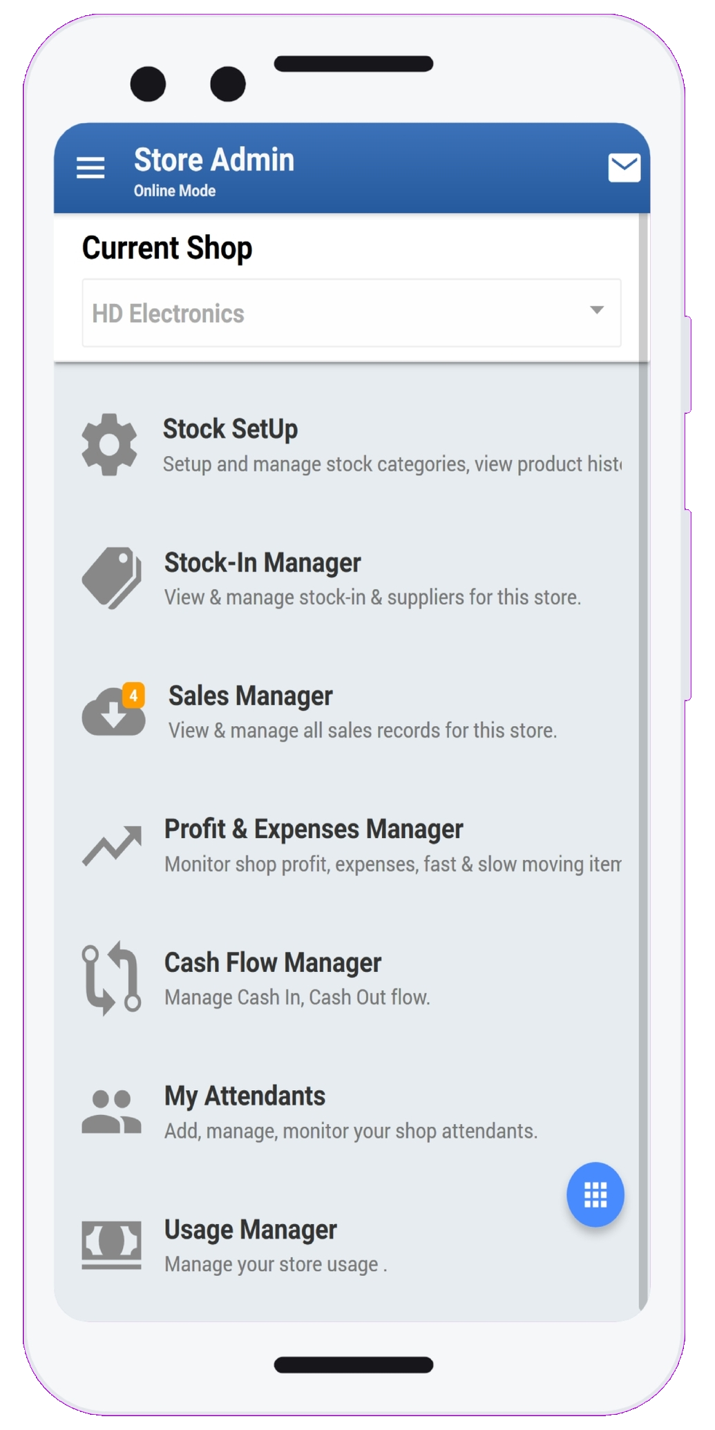 StockApp Feature - Easy to use  tool